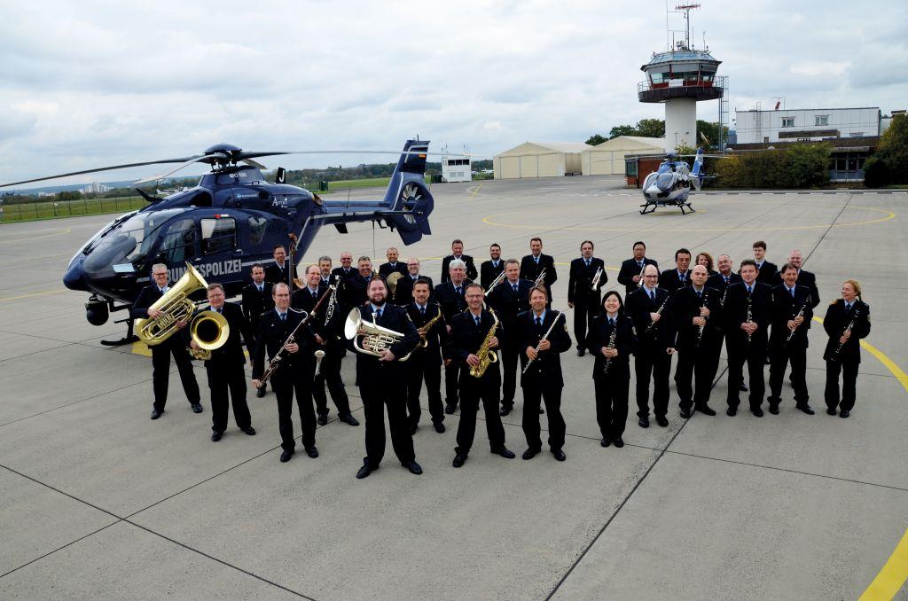 Bundespolizeiorchester Hannover zum ersten Mal in Mülheim an der Ruhr